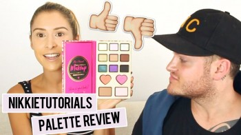 NikkieTutorials x Too Faced – Power of Makeup Palette (First Impressions + Review) | Diana Espir